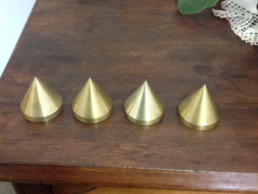Brass Spikes  Set of 4