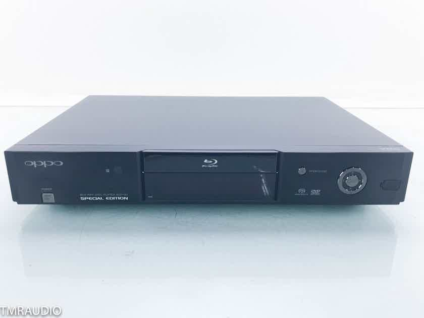 Oppo BDP-83SE Special Edition Universal Blu-Ray Player BDP83SE (16258)