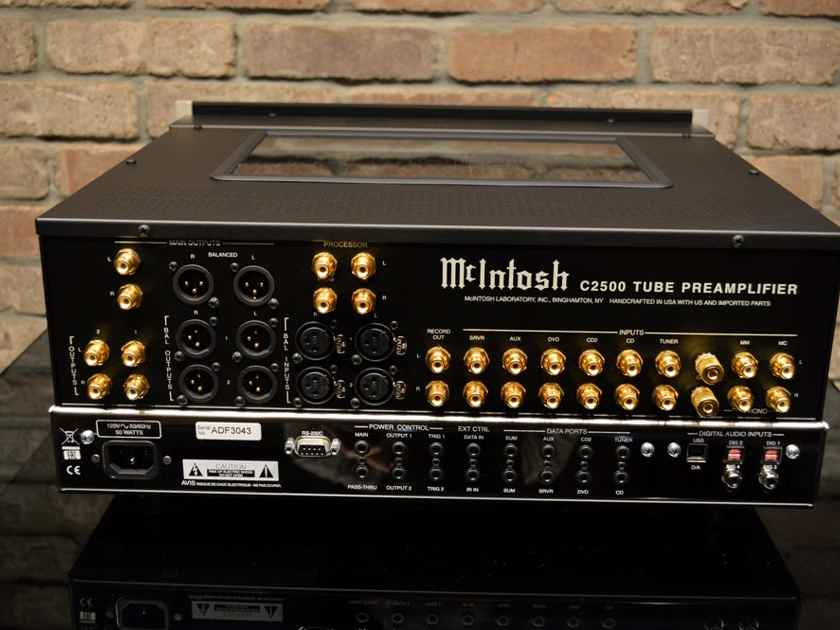 McIntosh C2500 Tube Pre-Amplifier w/ Phono and Digital Inputs