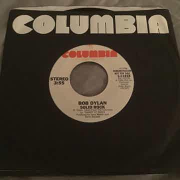 Bob Dylan Solid Rock Promo Single  NM
