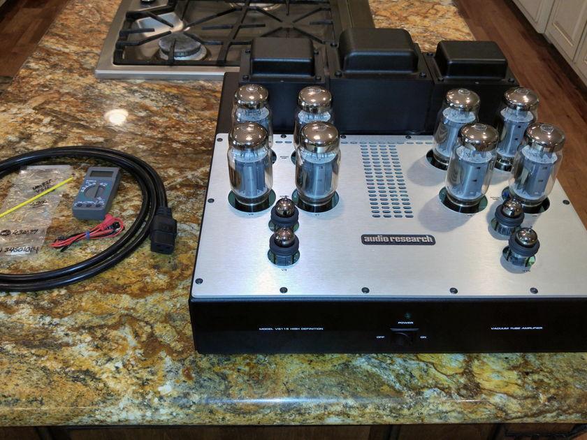 Audio Research VS-115 Vacuum Tube Amplifier