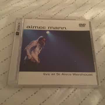 Aimee Mann CD/DVD  Live At St. Ann's Warehouse