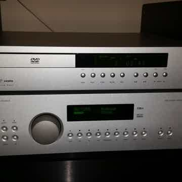 Arcam FMJ AV8 Processor AND Dv-137 Sacd, Dvd-A, Dvd play