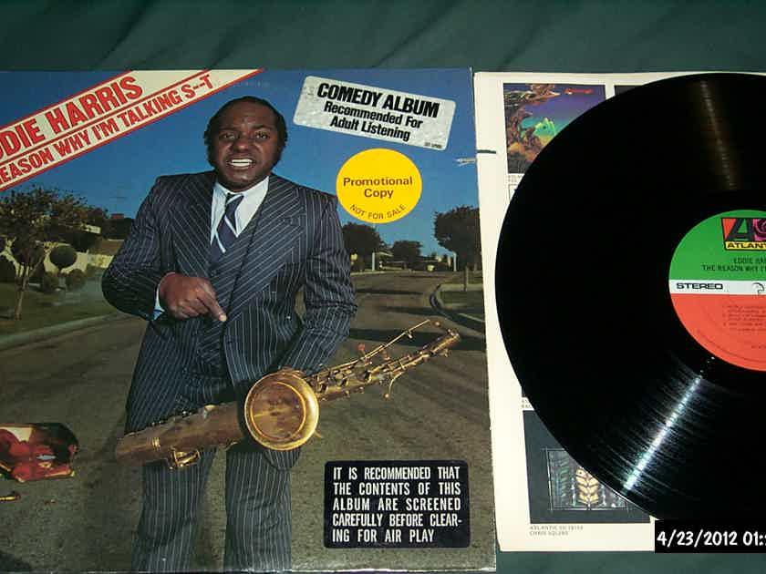 Eddie Harris - The Reason Why I'm Talking Sh%t Atlantic Records Vinyl  LP NM