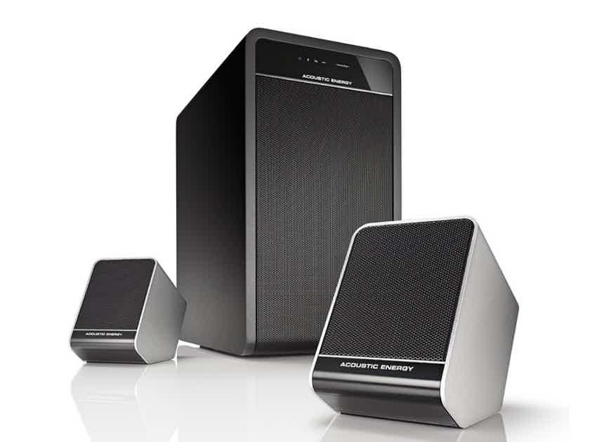 Acoustic Energy AEGO 3 2.1 Satellite/Sub System New-in-Box; 67% Off; Free Shipping
