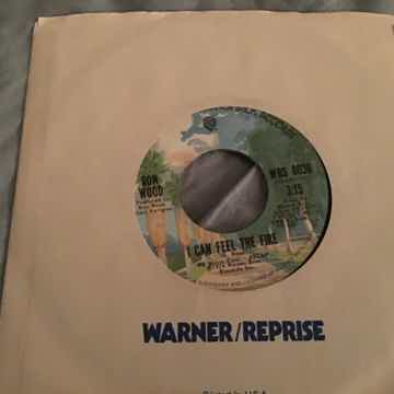 Ron Wood I Can Feel The Fire Mick Jagger Vocals 45 NM
