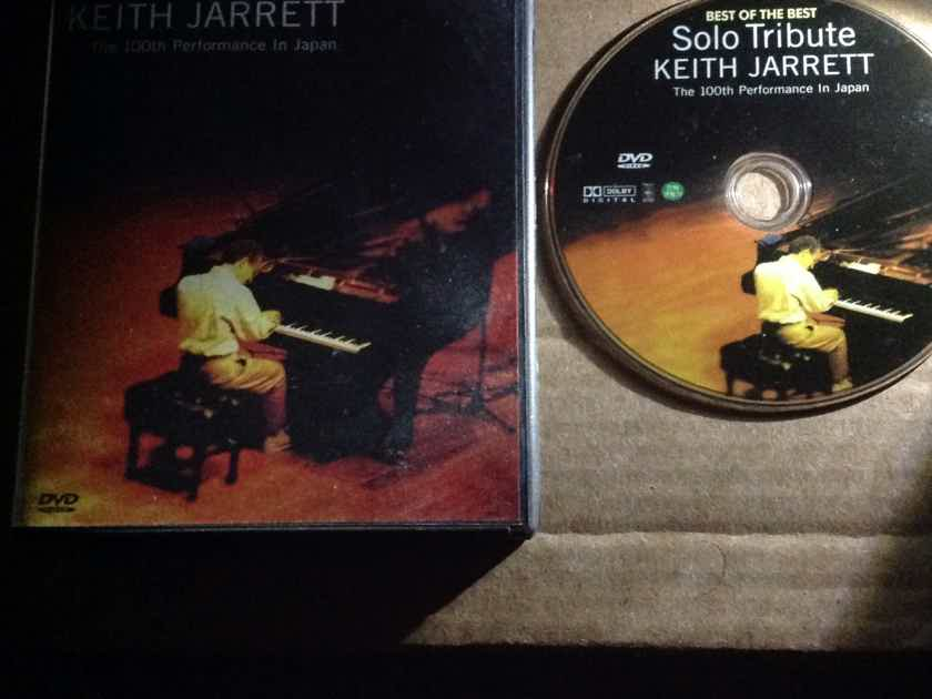 Keith Jarrett - Solo Tribute The 100th Performance In Japan DVD