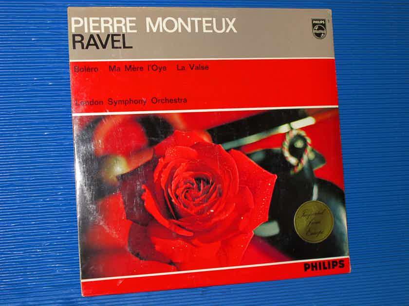 "RAVEL / Monteux   - ""Bolero, Ma Mere L'Oye, La Valse"" - Philips 1983 Dutch Pressing SEALED!"
