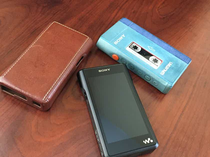 Sony WM1A with Dignis Cases - 8/10 Condition