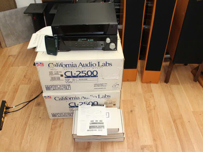 California Audio Labs CL-2500 SSP Surround Sound Processor & VSW Video Switch Bundle in Original Boxes