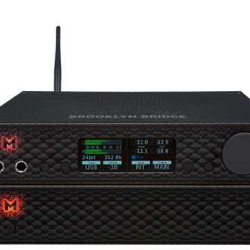 Mytek Digital BROOKLYN BRIDGE & BROOKYLN AMP BLACK BUNDLE