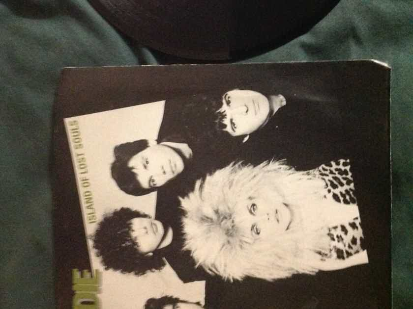 Blondie - Islands Of Lost Souls/Dragonfly 45 With Picture  Sleeve  Chrysalis Records Vinyl NM