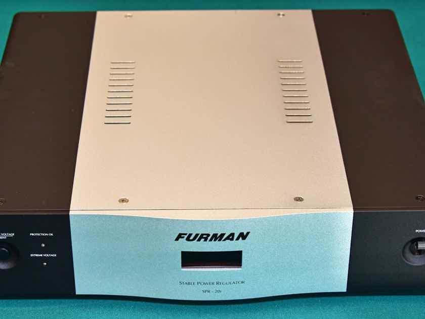 FURMAN SOUND SPR-20i STABLE POWER VOLTAGE REGULATOR-POWER CONDITIONER