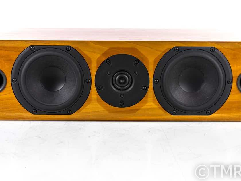 Audio Physic Center II Center Channel Speaker; Natural Cherry (20159)