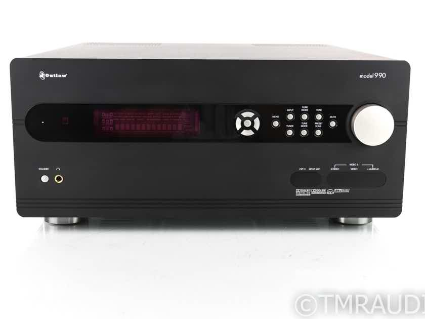 Outlaw Model 990 7.2 Channel Home Theater Processor; Preamplifier (19739)