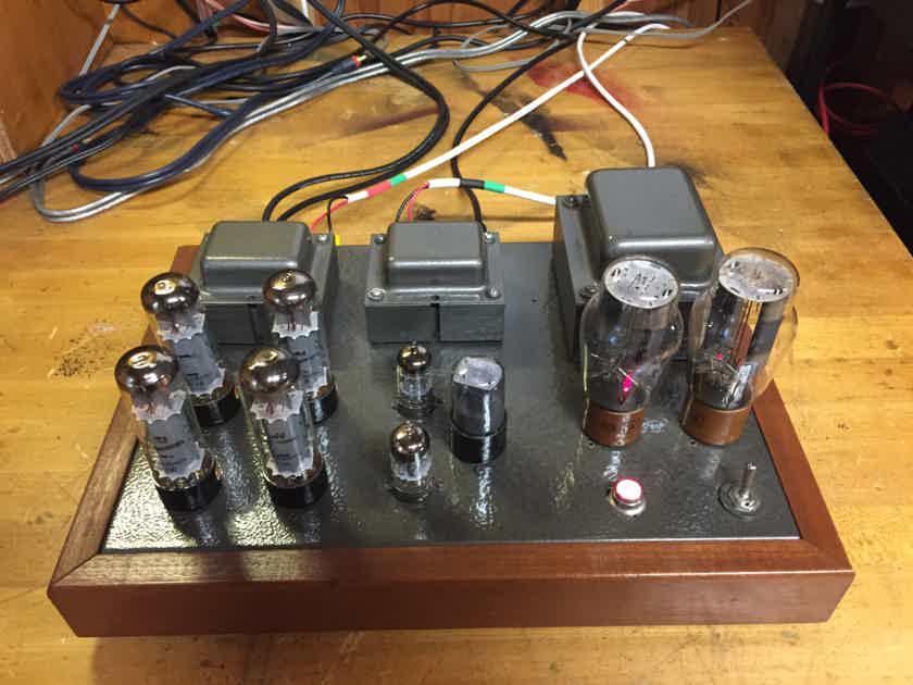 Jim Nichols JWN EL-34 Push Pull Stereo Tube Amplifier Custom Handbcafted Amp