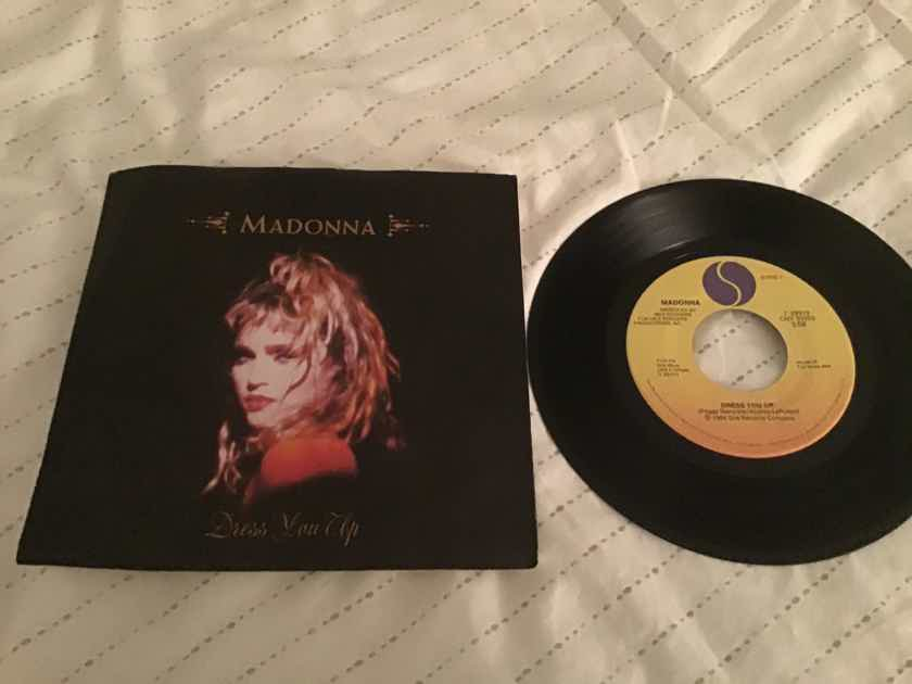 Madonna  Dress You Up 45 With Picture Sleeve