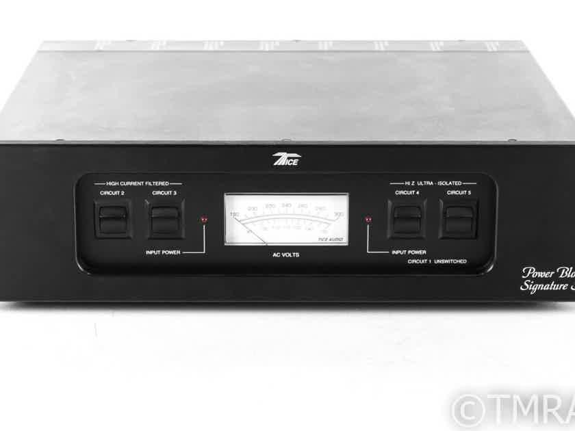 Tice Audio Power Block III AC Power Line Conditioner; Signature Series (22760)