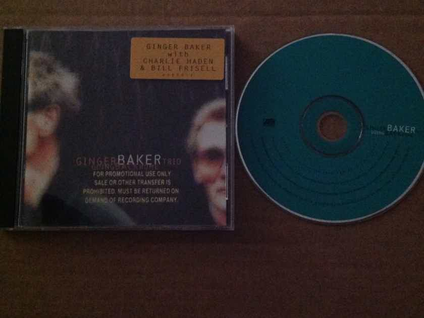 Ginger Baker Trio - Going Back Home Atlantic Records Promo CD With Bill Frisell Charlie Haden
