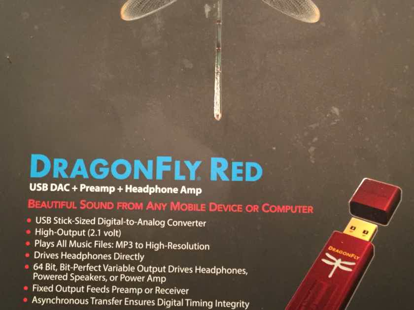AudioQuest Dragonfly Red - MQA Enabled w Jitterbug & Dragontail