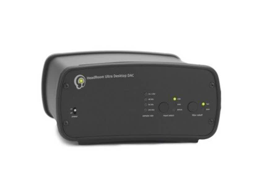 HeadRoom Desktop Ultra DAC 2600; D/A Converter; Black (New; No Power Supply) (22863)