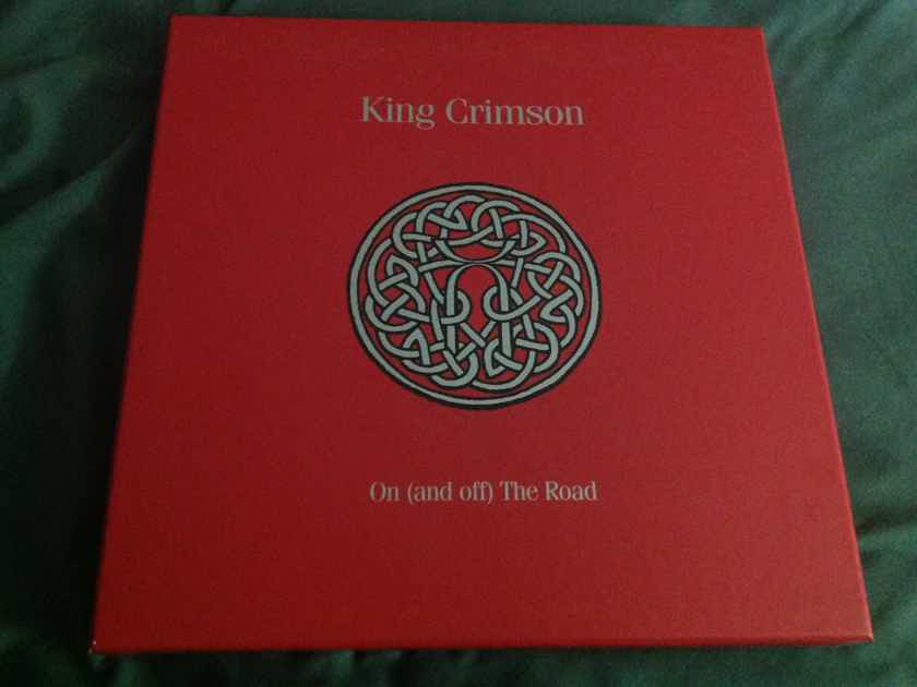 King Crimson  -  On (and off) The Road  19 Disc Limited Edition Box Set CD DVD Audio Blu Ray