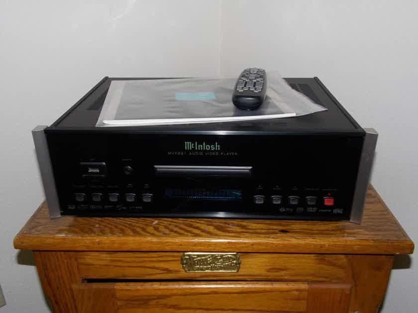 McIntosh MVP-891 Blu Ray Sacd Cd Universal Player Excellent Condition