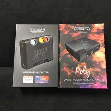 Chord Electronics Ltd. Mojo + Poly Combined