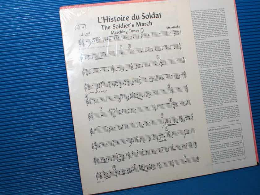 "STRAVINSKY / Parnassus   - ""L'Histoire du Soldat (Suite)"" -  Music Minus One SEALED!"