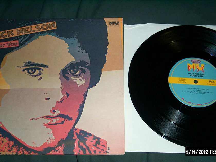 Rick Nelson - For You 10 Inch EP NM