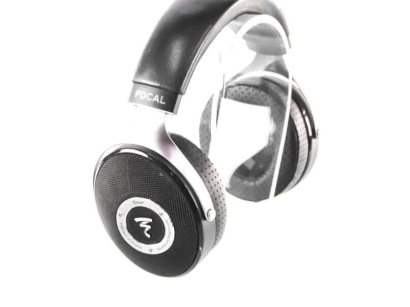 Focal Elear Dynamic Open Back Headphones; Upgraded Cable / Earpads (28318)