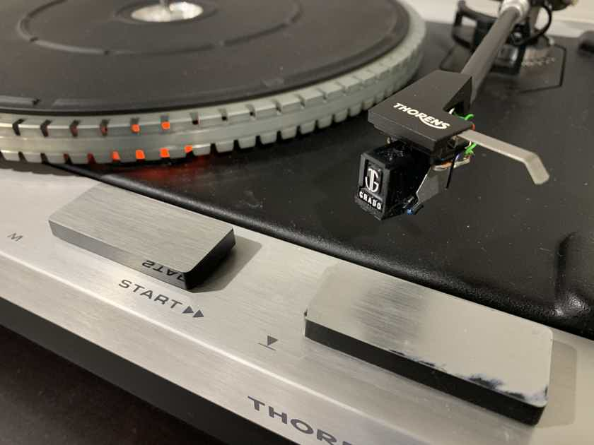 Thorens TD-115 Turntable. Updated and Upgraded