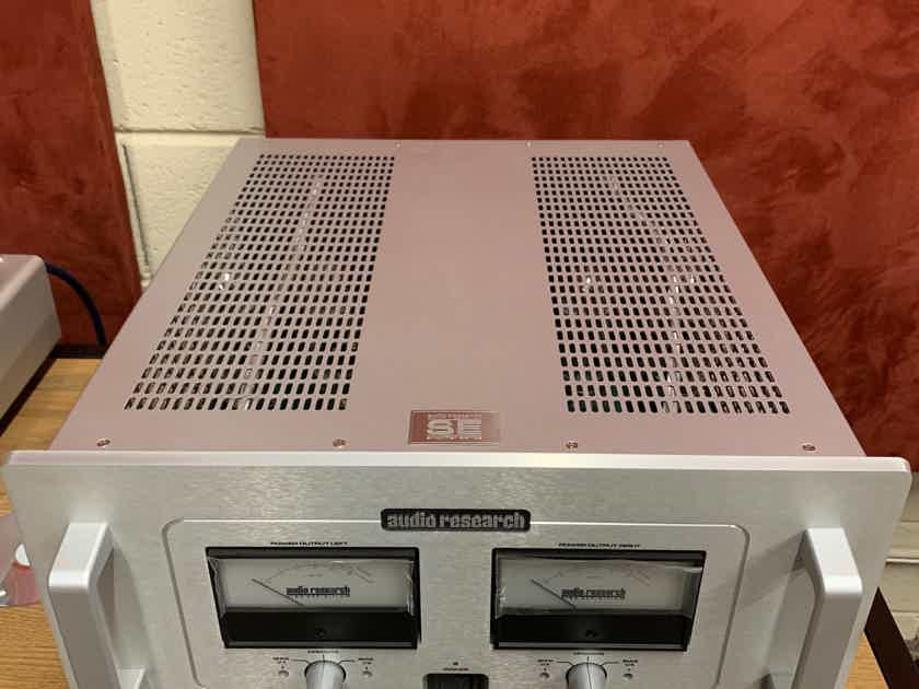 Audio Research Reference 75 SE Silver finish