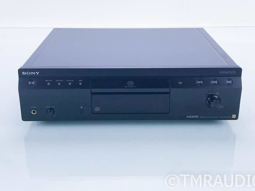 Sony SCD-XA5400ES SACD / CD Player SCDXA5400ES; Remote (16734)