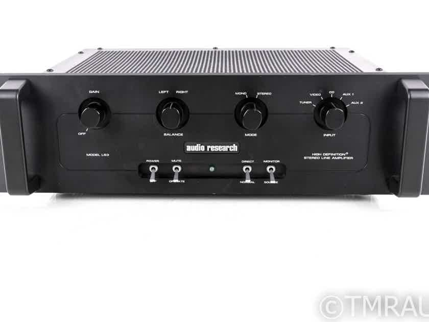 Audio Research LS3B Stereo Preamplifier; LS-3B (No Remote) (20266)