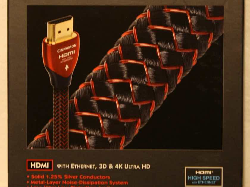 AudioQuest Cinnamon HDMI Cable. 1.5m. New.