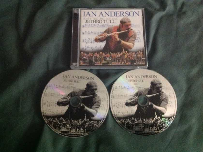Ian Anderson  - Plays The Orchestral Jethro Tull 2 Compact Disc Import Edition