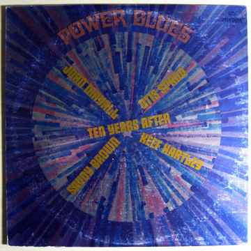 Various Blues Artists Compilation - Power Blues  - 1970...
