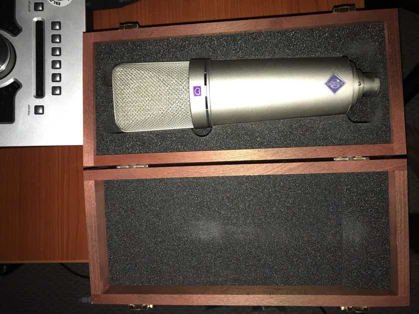 Neumann U 87 Ai Set Large-diaphragm Condenser Microphone - Nickel