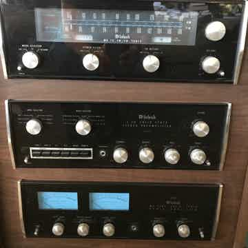 McIntosh C-26 Pre-Amp, MC 2505 Amp, MR 73Tuner