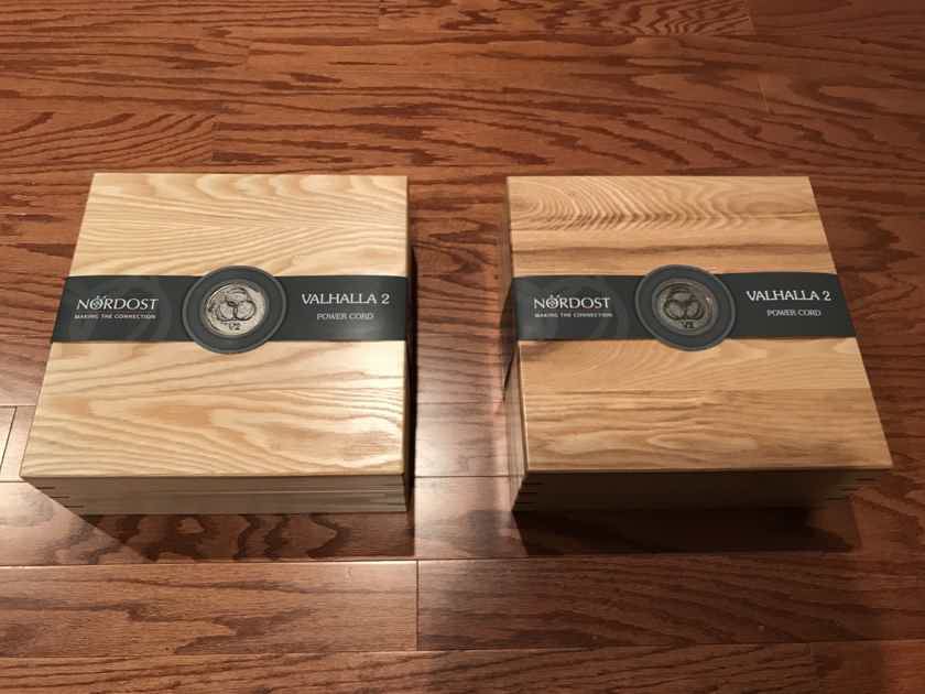 Nordost Valhalla V1 XLR/RCA interconnect or V2 power cable
