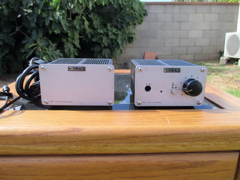 Channel Islands Audio VHP-1 and VAC-1 headphone amp and power supply