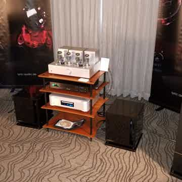 Lyric Audio Ti200 with KT120 tubes at the RMAF 2018