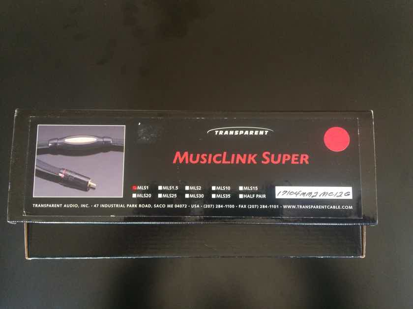 Transparent Audio MusicLink Super MM2