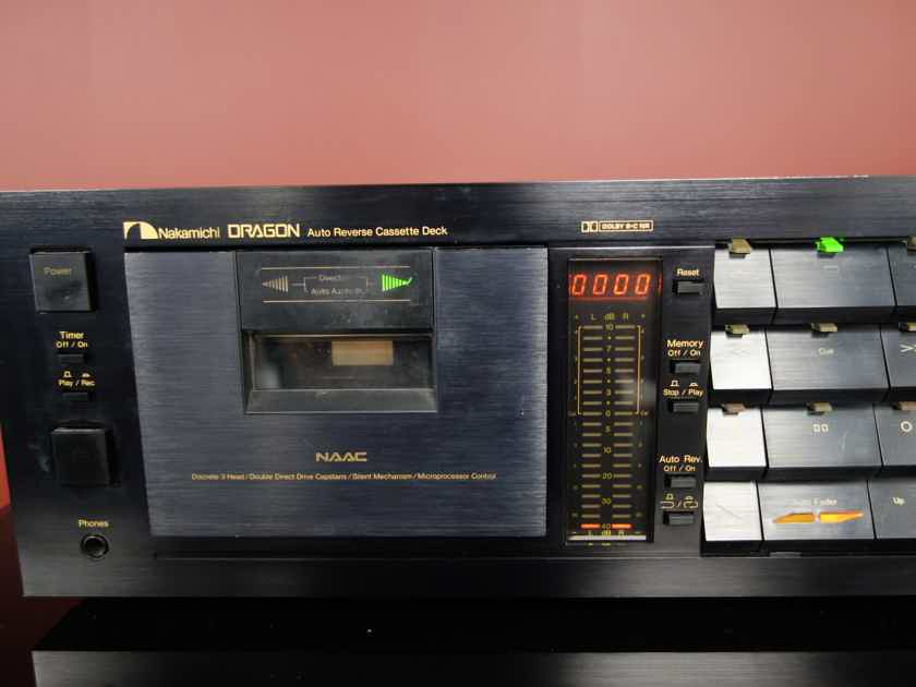 Nakamichi Dragon Auto Reverse Cassette Deck - Refurbished - Excellent Conditi