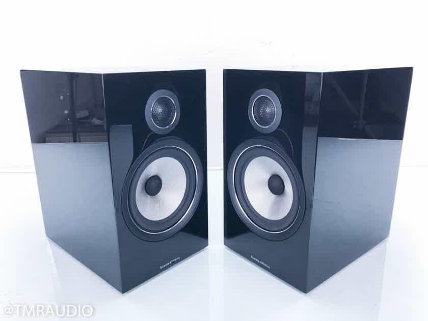 B&W 706 S2 Bookshelf Speakers Gloss Black Pair (13834)