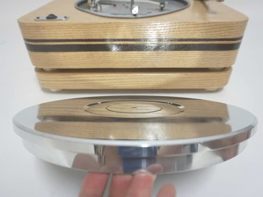 RGTT Custom Two Tier rare Lenco TT Series II with 19 in Ortofon double bearing t/a  Must see YouTube