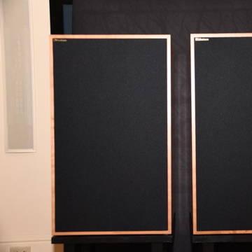 Graham audio  LS5/8 cherry speakers