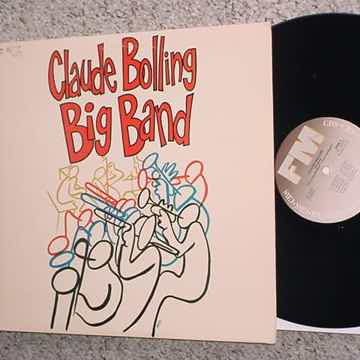 Claude Bolling big band lp record  live at the Meridien Paris Chez Moustache