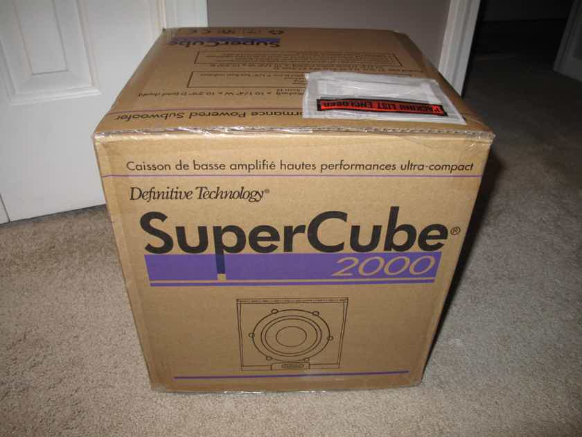 Definitive Technology Supercube 2000